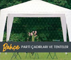 Parti Çadırları ve Tenteler
