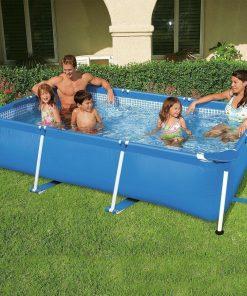 Bahçe Havuzu Aile Boyu Büyük Havuz Şişme Havuz Prefabrik Havuz