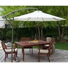 Bidesenal Bahçe Şemsiyesi Ampul Şemsiye Balkon Şemsiye 3 Mt Beyaz Renk Makaralı Katlanır Gölgelik
