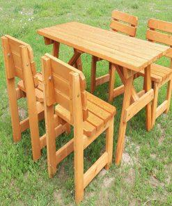 Bidesenal Ahşap Piknik Masası Ve Sandalye Seti