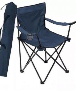 Kamp Sandalyesi 50*50*80 Ölçülerinde 120 Kg Kapasiteli Lacivert